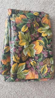 round fall tablecloth