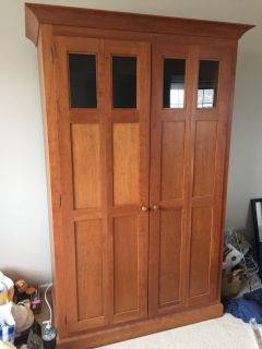 Gorgeous Room and Board armoire/hutch