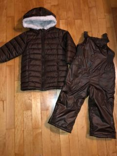 Old Navy parka & snow pants 2T