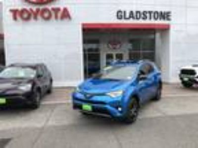 2017 Toyota RAV4 Hybrid SE ALLOY WHEELS, BIRD'S EYE VIEW CAMERA, TOYOTA SAFE
