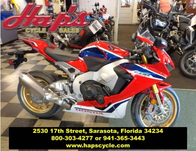 2018 Honda CBR1000RR SP SuperSport Motorcycles Sarasota, FL