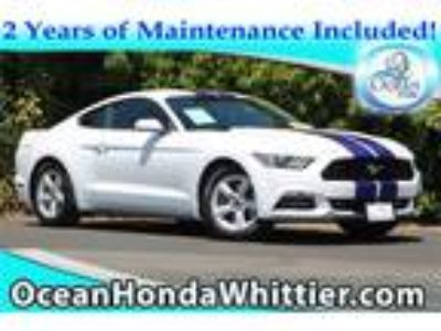 Used 2016 Ford Mustang Oxford White, 53.9K miles