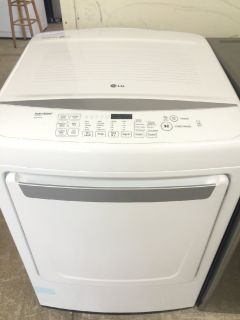 LG Electric Dryer in White