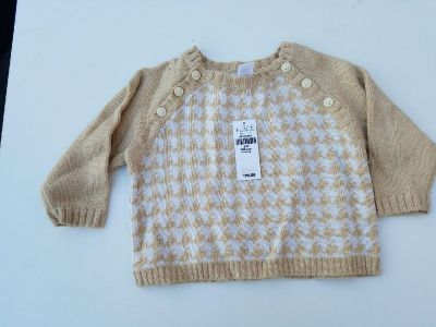 NWT Children's Place 3-6mos sweater