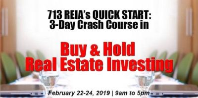 QUICK START: 3-Day Crash Course in Buy & Hold Real Estate Investing