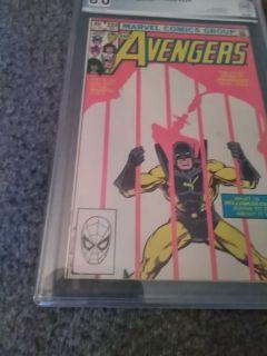 Avengers #224 Oct 1982 pgx 8.0