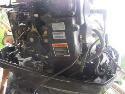 Find Mercury 60 Hp. Outboard Engine 2002 Compression 112 lb. with Tilt & Trim motorcycle in Young Harris, Georgia, United States, for US $2,450.00