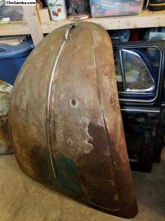 Killer patina hood!