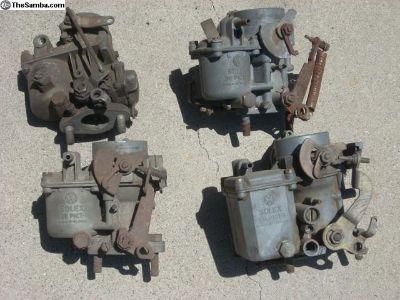 German vw Carburetors Stamped Made in Germany.
