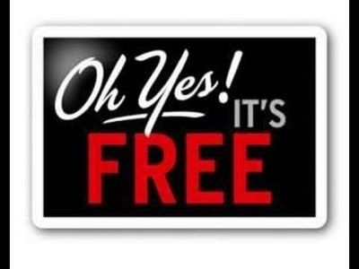 FREE!! Must pick up TODAY!!! FREE!!