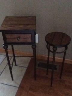Accent tables, excellent cond