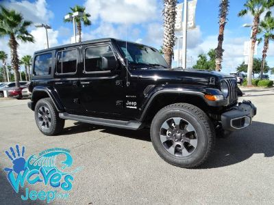 2018 Jeep Wrangler Unlimited Sahara (Black Clearcoat)
