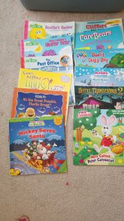 Lot of 21 kid story books sold together
