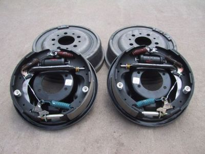 "Purchase 9"" Ford Bolt-On 11"" Drum Brake Kit - 9 Inch - Big Ford Old-Style - 1/2"" Ends motorcycle in Ames, Iowa, United States, for US $300.00"