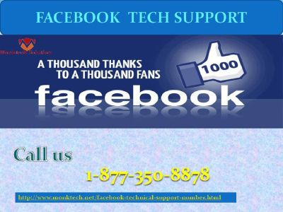 Bestow undying Support at Your Doorstep: Facebook Tech Support 1-877-350-8878