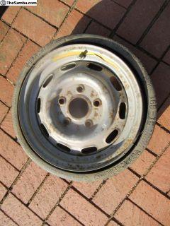 Porsche 911 Spare Tire 5 1/2J X 15H2 date stampe