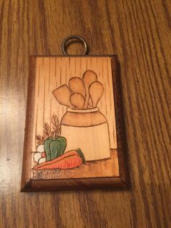 Small Wooden Plaque