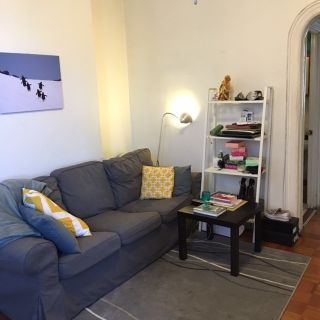 $1250 - 1 room available for rent in 2 bedroom apt. Private back deck with grill, free laundry in the building!