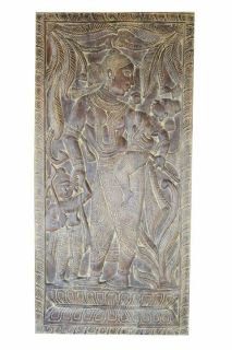 ANNUALCLEARANCESALE!Vintage Handcarved MotherYasoda Talking to Krishna