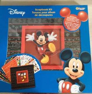 Mickey Mouse 12 x12 Scrapbook Album by Sandy Lion NEW