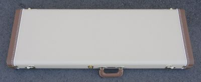 Fender CUSTOM SHOP Stratocaster/Telecaster Case - Blond W/ Ivory Poodle Interior - BRAND NEW !!!