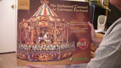 enchanted carousel kit by built art-wrebbit