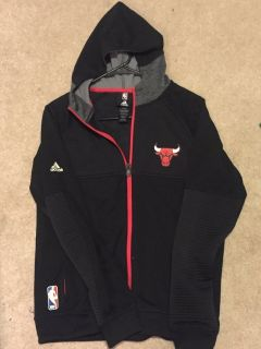 Adidas Bulls light weight zip up jacket