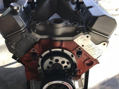 650hp 434 sbc fuel inj. pump gas
