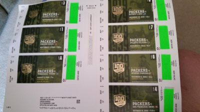 Green Bay Packers Green package