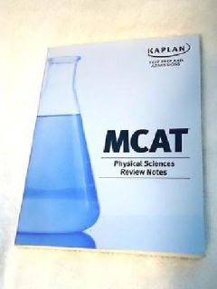 $10 OBO Kaplan Test Prep MCAT Physical Sciences Review NotesTextbook