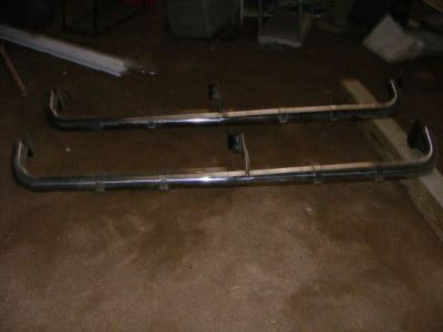 Sell HEAVY DUTY RUNNING BOARDS motorcycle in Hampshire, Illinois, United States, for US $200.00