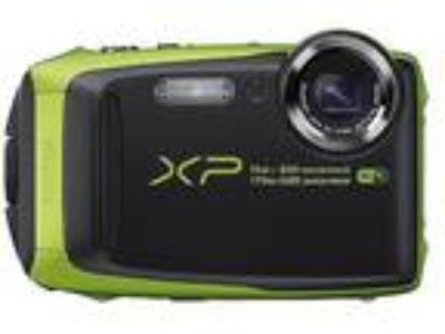 Fujifilm XP90 Waterproof Digital Camera Graphite with Lime