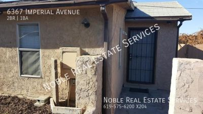 Single-family home Rental - 6367 Imperial Avenue