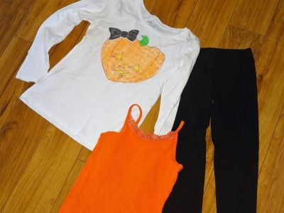 Back to School Outfit Halloween Girl M 7 8