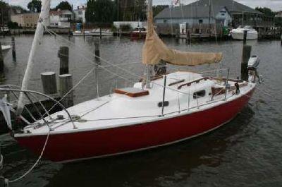 1960 Pearson Electra 22' Sailboat