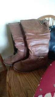 Boots-Top Mods calf motorcycle riding boots coco