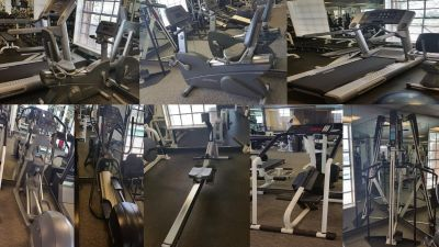 Gym cardio weights loss package 10 machines