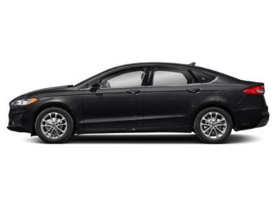2019 Ford Fusion S FWD (Agate Black)