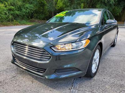 2015 Ford Fusion SE (Green,Dark)