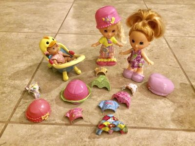 Snap and Dress Dolls