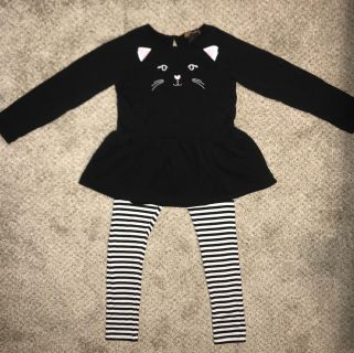 Cat Halloween outfit sz. 5