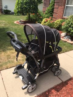 Graco Ready 2 Grow Classic Connect double stroller