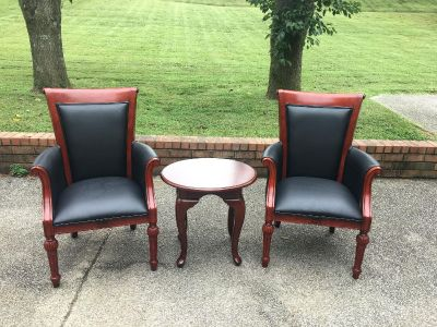 Solid Wood chairs and table