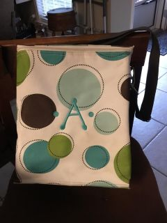 """THIRTY ONE PICNIC THERMAL TOTE (MONOGRAMMED """"A"""")"""