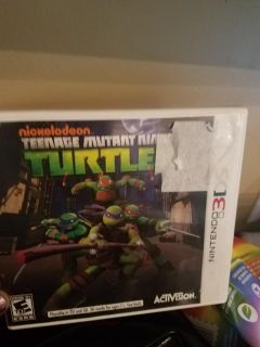 Tmnt 3ds game
