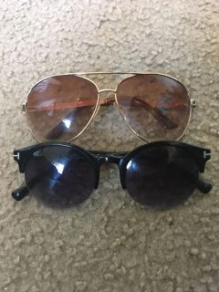 Two cute Pairs of Sunglasses