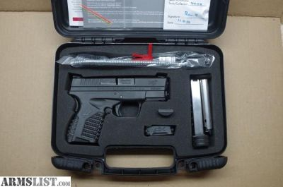 For Sale: Springfield XDS-9mm-3.3