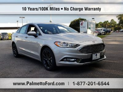 2018 Ford Fusion S FWD (SILVER)