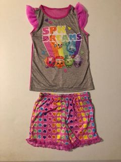 Shopkins pajamas