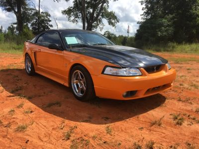 2001 Ford Mustang SVT Cobra (Orange)